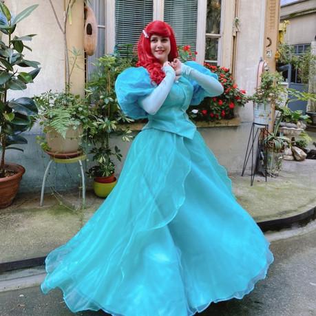 Anniversaire Ariel Petite Sirène Paris