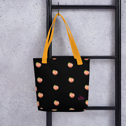 Bunny Barbell - Peach Tote Bag