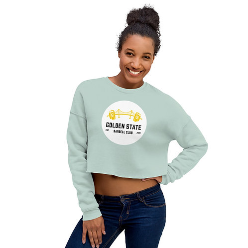 Sweatshirt Cropped GSBB w/White Circle