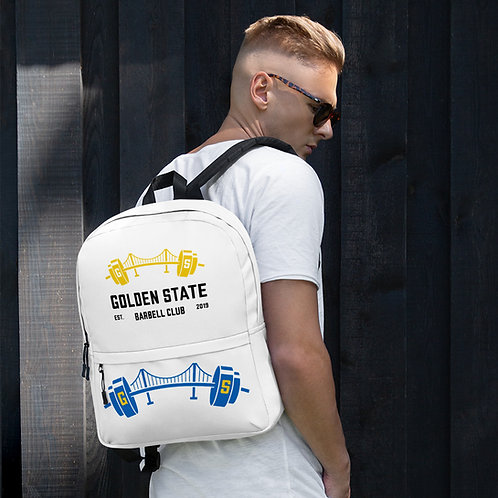 Golden State Barbell - Backpack Dual Logos