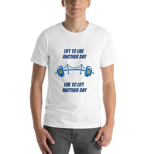 Golden State Barbell - LTD Edition Unisex Live/Lift T-Shirt