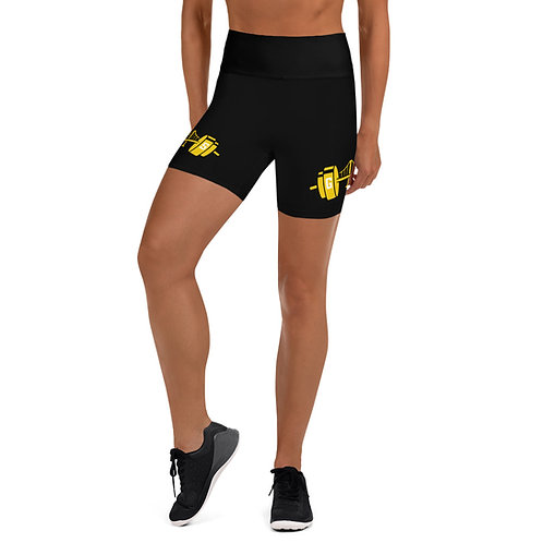Golden State Barbell - LTD Edition Shorts w/Yellow Logo