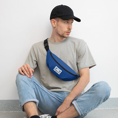 Golden State Barbell - Blue Fanny Pack