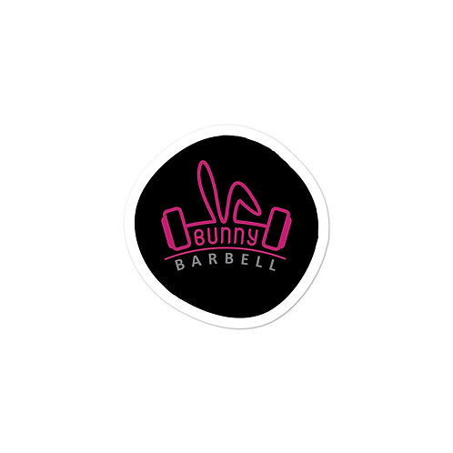 Official Logo Sticker - Bunny Barbell