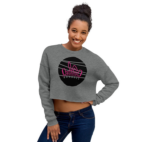 Bunny Barbell - Cropped Sweatshirt Circle