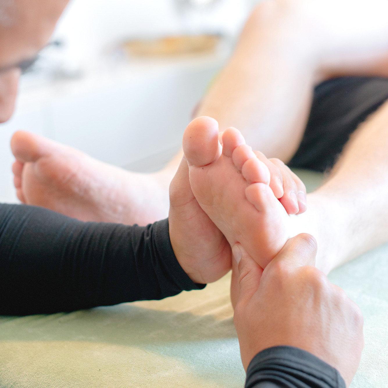 Fussreflex Massage
