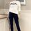 Thumbnail: Oohlala Sweatshirt in Weiss mit Blau