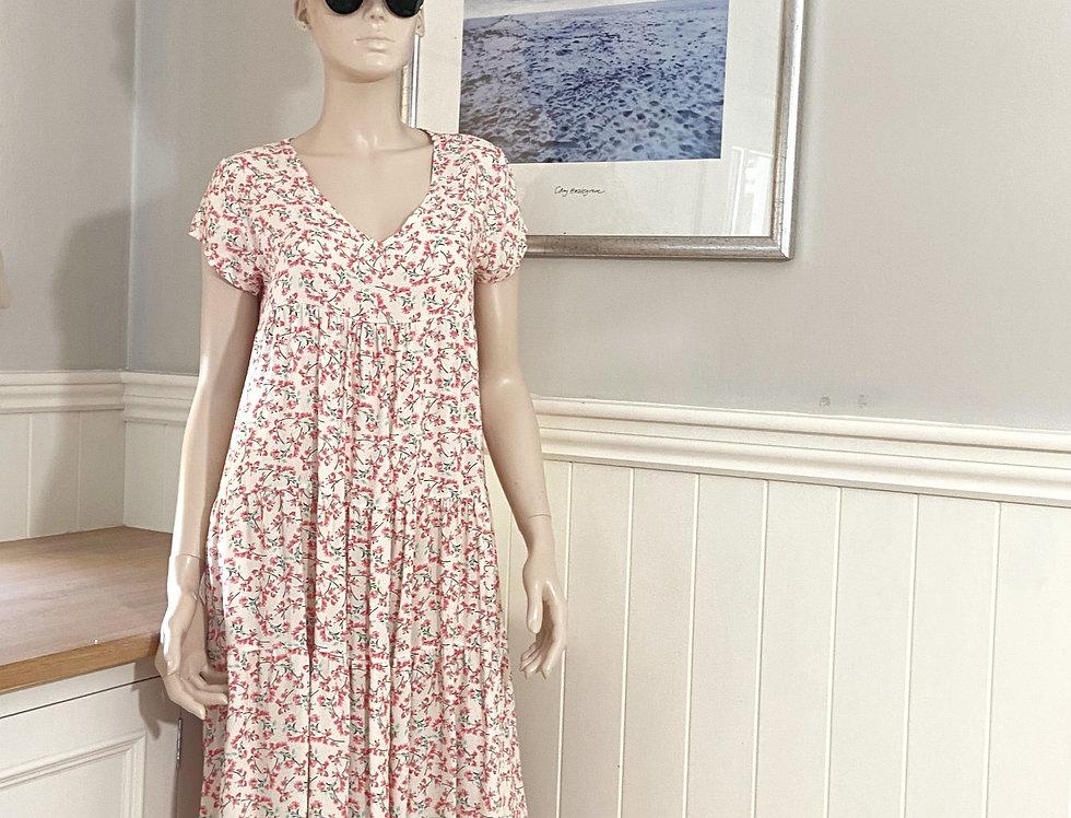 Heidi Floral Midi Dress