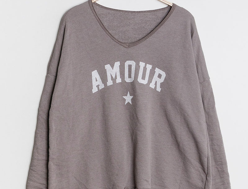 Amour Sweater in Taupe