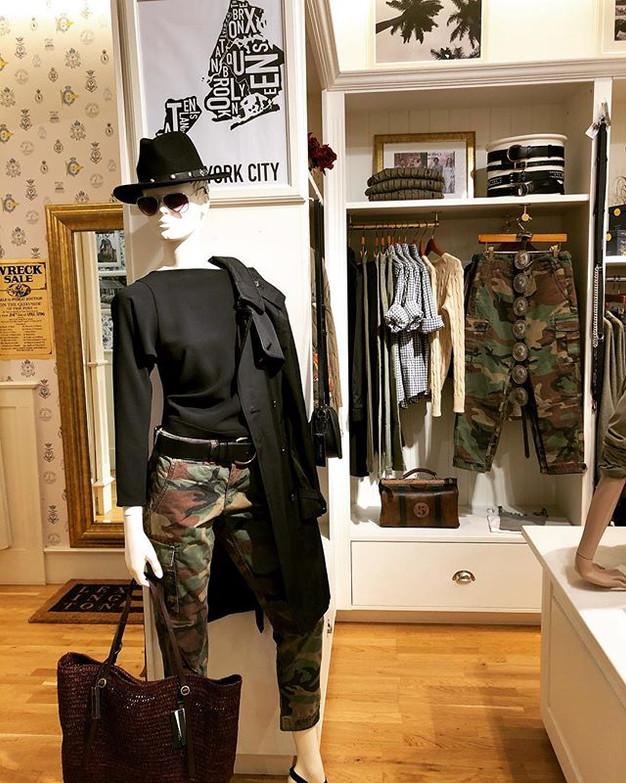 Our shop mannequin shows some attitude t