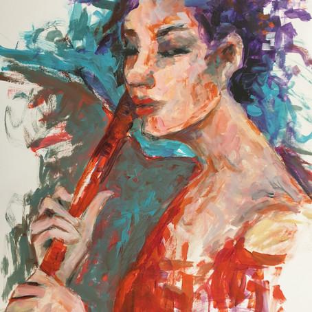 Cover Art: Woman with an umbrella by Danijela Pavliško