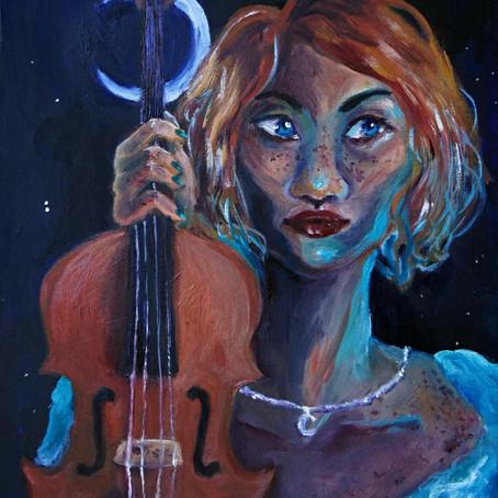 Cover Art: Concert Mistress by Caroline Dinh