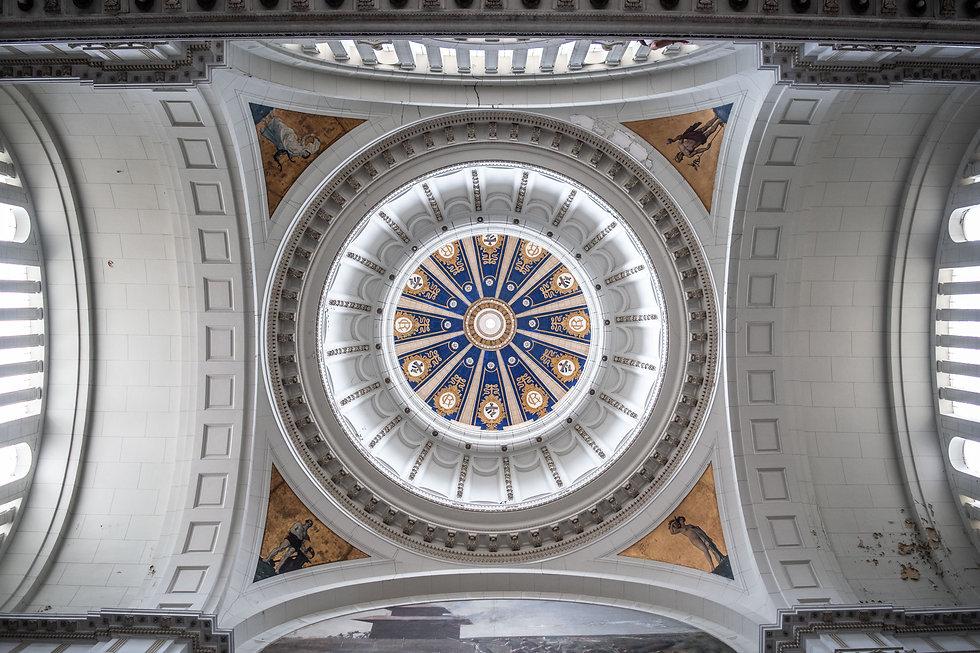 Image of the ceiling of Museo de la Revolucion, La Habana, Cuba.