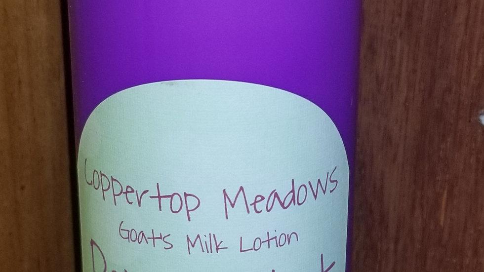 Peppermint Goats milk lotion 8oz