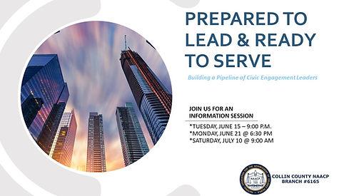 Prepare to Lead & Ready to serve   Intro