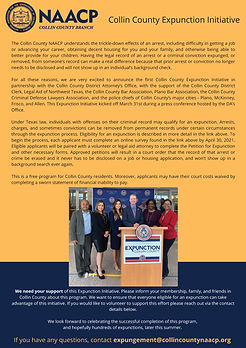 4.3 Collin County Expunction Initiative-