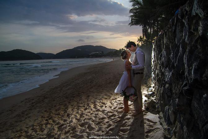 Casamento no Guarujá - Bárbara e Emile