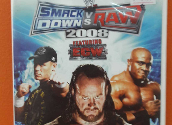 Smack Down vs Raw 2008 Featuring ECW