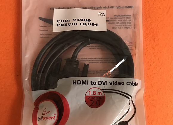 HDMI To DVI video cable