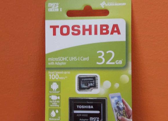 Micro SDHC UHS-I Card 32GB TOSHIBA