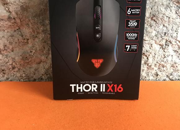 Macro RGB Gaming Mouse Thor    X16