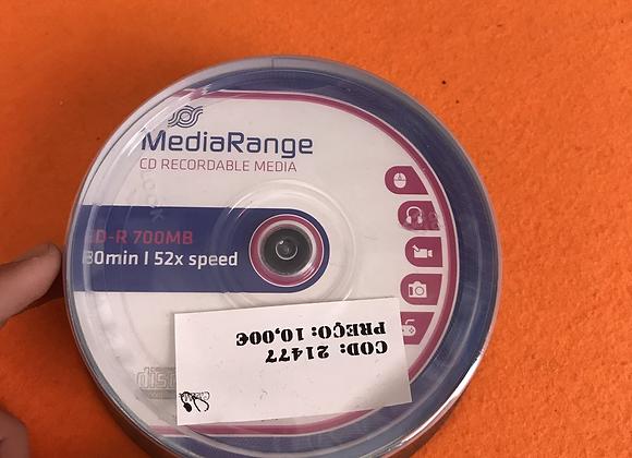 MediaRange CD-R 52x 700MB/80min