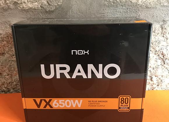 Fonte de alimentação NOX Urano VX650W