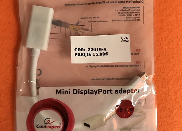 DisplayPort Male To DisplayPort female adapter