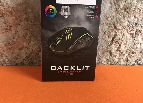 Backlit Optical Gaming Mouse GM-203