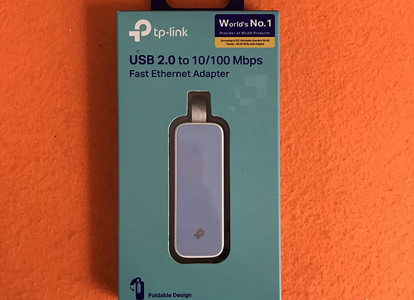 USB 2.0 to 10/100Mbps Fast Ethernet Adapter