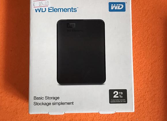 Disco Externo WD Elements 2TB