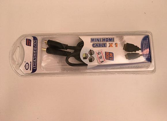 MINI HDMI CABLE X 1