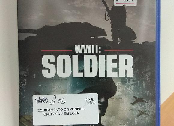Jogo PS2 WWII SOLDIER