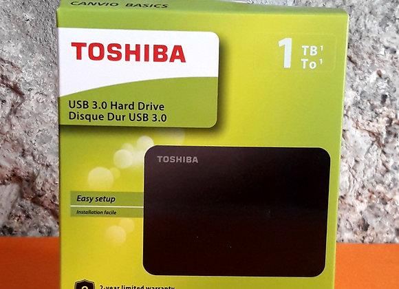 Disco Rígido Externo Toshiba Canvio Basics