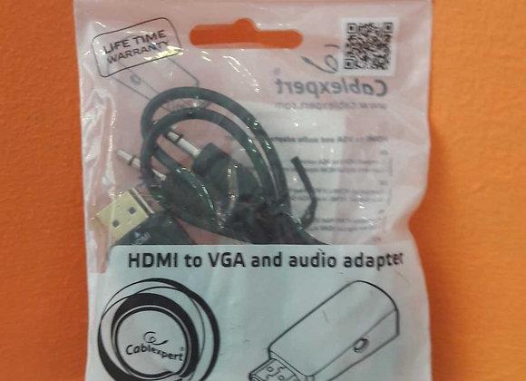 CABO HDMI to VGA and audio adapter