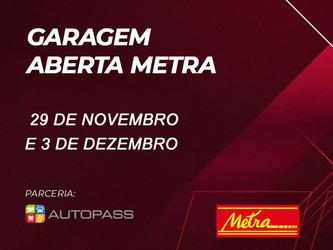 """METRA PROMOVE AÇÃO """"GARAGEM ABERTA"""" NOS DIAS 29 DE NOVEMBRO E 3 DE DEZEMBRO"""