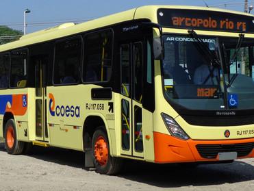 MARCOPOLO ENTREGA 25 ÔNIBUS TORINO PARA A COESA TRANSPORTES