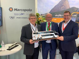 MARCOPOLO É O BRASIL NA BUSWORLD EUROPE 2019