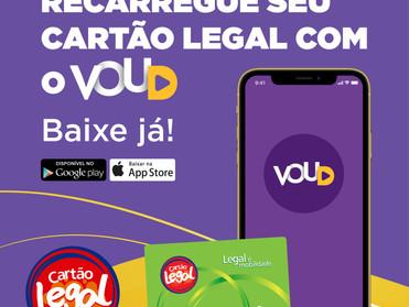 CARTÃO LEGAL ADOTA APLICATIVO VOUD PARA MAIOR FACILIDADE DOS CLIENTES
