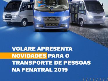 VOLARE APRESENTA NOVIDADES NA FENATRAL 2019