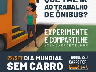 METRA COLOCA EM OPERAÇÃO SUA FROTA VERDE NO DIA MUNDIAL SEM CARRO