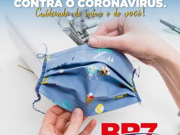 BR7 MOBILIDADE LANÇA CAMPANHA PARA CONFECÇÃO E DOAÇÃO DE MÁSCARAS DE PANO