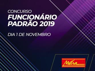 PRÊMIO FUNCIONÁRIO PADRÃO METRA ELEGE OS MELHORES DE 2019
