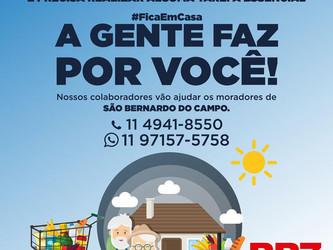 BR7 MOBILIDADE INTENSIFICA PROJETO #FIQUEEMCASA, A GENTE FAZ POR VOCÊ EM SÃO BERNARDO DO CAMPO