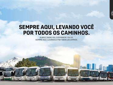 MARCOPOLO LANÇA NOVA CAMPANHA PUBLICITÁRIA