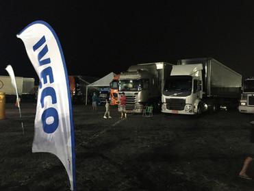 TRUCK DRIVE IN EXPERINCE CONTA COM MAIS DE 200 CAMINHONEIROS NA SUA ABERTURA