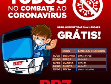 BR7 MOBILIDADE ESTENDE DISTRIBUIÇÃO GRATUITA DE MÁSCARAS EM SÃO BERNARDO DO CAMPO