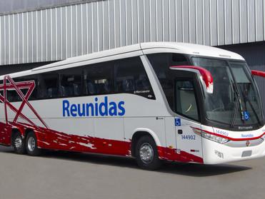 REUNIDAS PAULISTA ADQUIRE ÔNIBUS MARCOPOLO PARADISO 1200