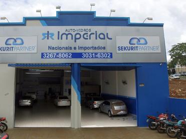 AUTO-VIDROS IMPERIAL, PRIMEIRA LOJA SEKURIT PARTNER DA REGIÃO NORTE DO PARANÁ