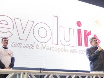 """""""EVOLUIR COM VOCÊ É MARCOPOLO"""""""